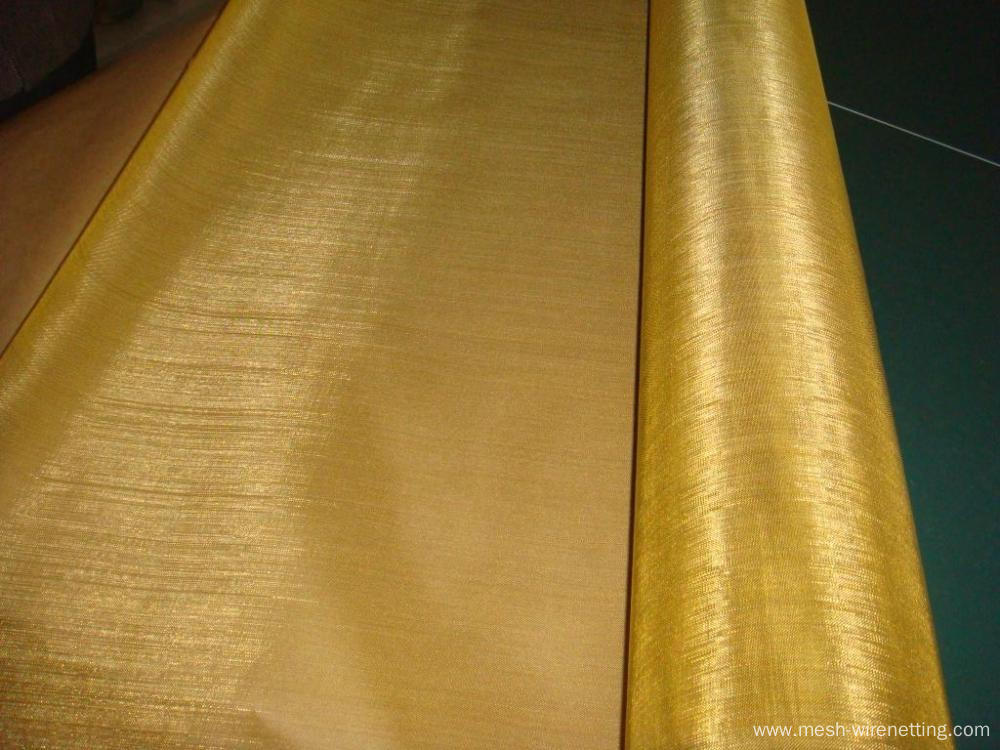 8 mesh Brass & Copper Wire Cloth
