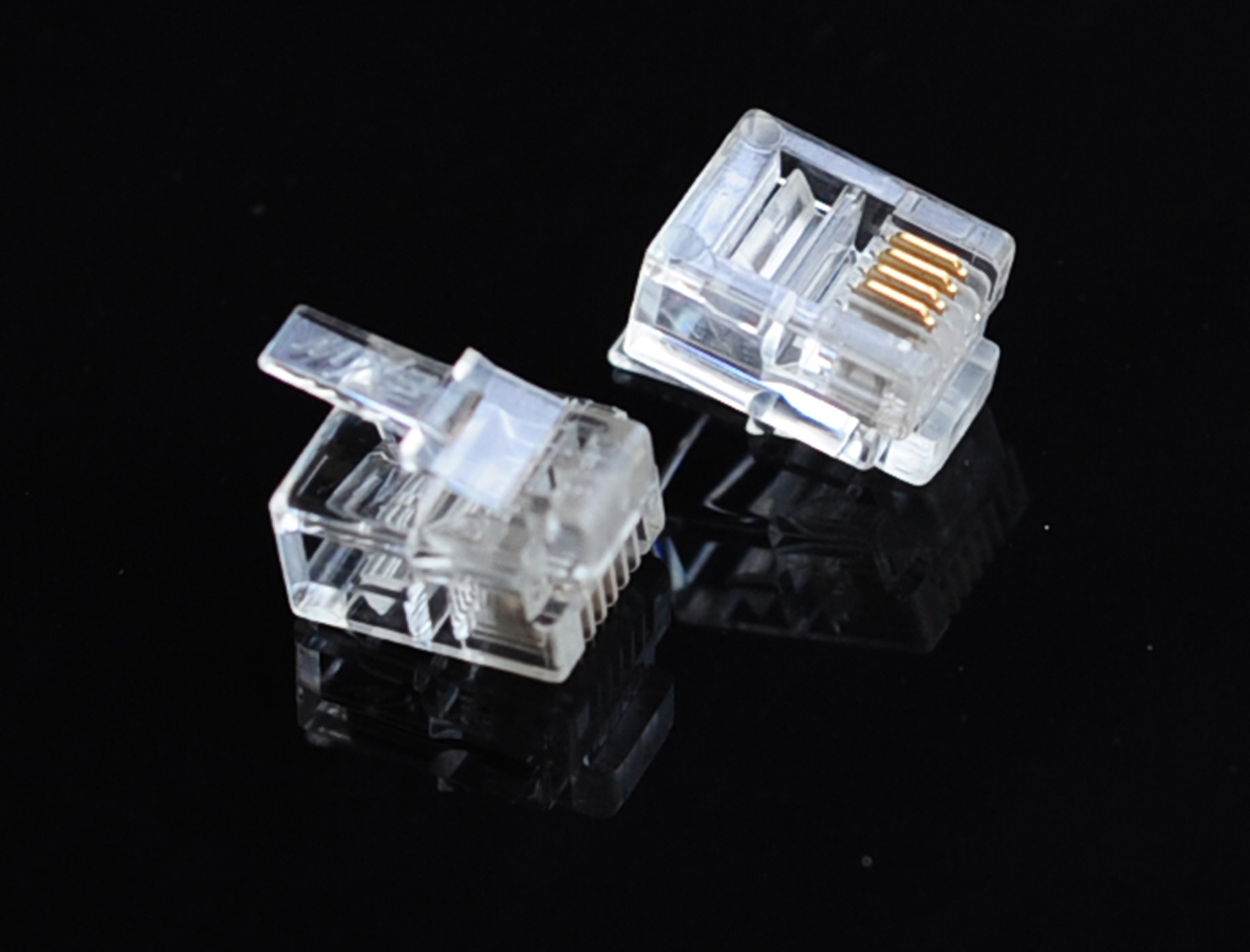 RJ12 Male Plug Connector
