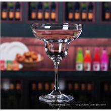 Nouvelle coupe de haute qualité en verre de coktail en verre à la crème glacée pour grossiste