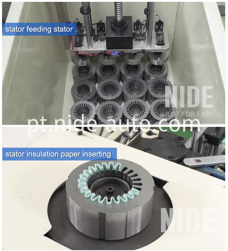 stator inslot insulation paper inserting machine paper insertor2
