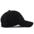 black 3d embroidery customised baseball cap
