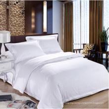 100% Хлопчатобумажные гостиничные комплекты постельного белья Plain Style (WS-2016281)