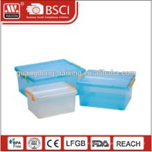 Recipiente de alimento plástico hermético BPA Free 2015, recipiente plástico por atacado