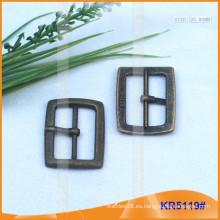 Tamaño interior 25mm Metal Hebillas para zapatos, bolsa o cinturón KR5119