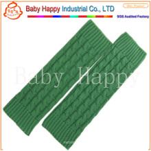 Hochwertige bunte Häkelarbeit stricken Beinwärmer für Kinder