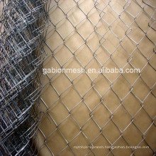 Used chain link fence for sale/galvanized chain link fence/pvc coated chain link fence