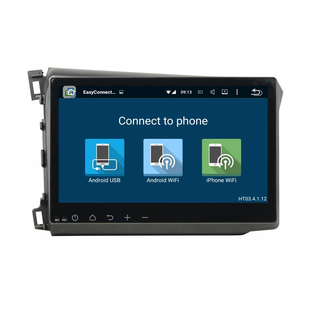 auto DVD android voor Honda CIVIC 2012