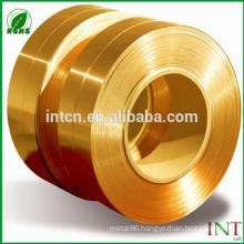 High quality GB DIN EN ISO UNS JIS standard CuZn15 brass strips
