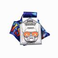 Custom cool dog summer pet race medal