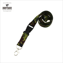 Camouflage Lanyard with Metal Lobster Hook and Release Buckle