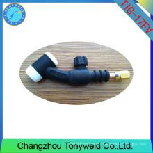 WP-17FV cabeza flexible con la válvula TIG soldadura antorcha