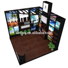 Oferta de Detian shanghai expo exposição exibição tenda aluguer comércio Mostrar sistema de cabine de exibição