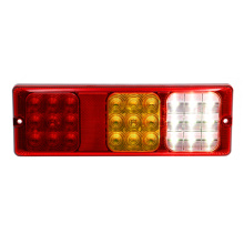 Rectangular Truck Rear Combination Light Dengan Reflector