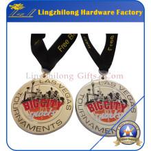 Médaille de prix personnalisée avec ruban