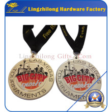 Custom Award Medal with Ribbon