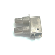 Couple BNC connector with zinc alloy shell