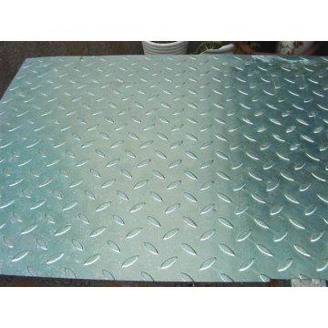 FEUERVERZINKTEN verzinkten kombinierte Stahlvergitterung mit Checker-Platten