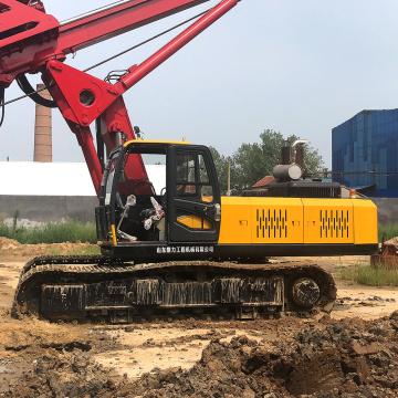 Petit appareil de forage rotatif pour puits d'eau diesel