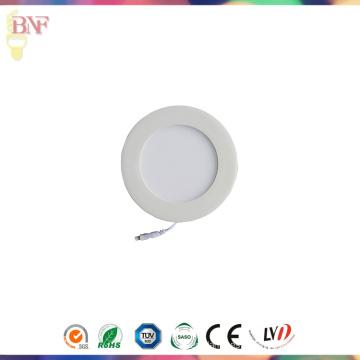 Luz de panel LED blanca de 12W con Saso
