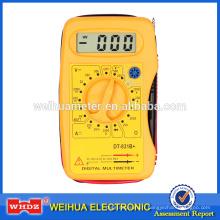 Multimètre numérique de poche DT831B avec test de batterie