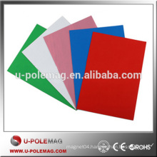 Precise Rubber Magnetic with PVC Sheet