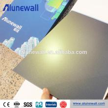Painéis de parede compostos plásticos exteriores da cor da madeira do pvdf de 1220 * 2440 milímetros