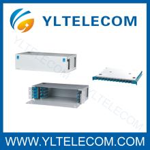 19-Zoll 2HE 48Core behoben Schiebe-Fiber Optic Patch-Panel ODF Typ