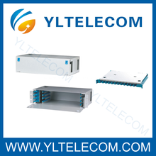 19 polegadas 2U 48Core deslizante fibra óptica Patch Panel ODF tipo fixo