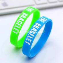 Custom Design Silk Cetak Silicone Rubber Band
