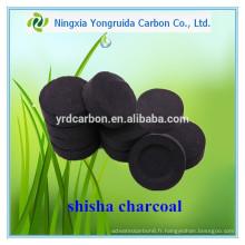 Charbon de bois d'approvisionnement de Cconut d'usine pour la narguilé de narguilé