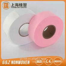 rouleaux déchirables de papier de cire de fabic non-tissés outils de soin de bacauty