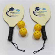 EASTOMMY Best Sellers Wooden Pickleballs Paddle