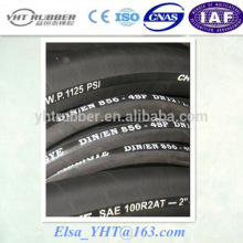 4SP 2 inch Hydraulic Rubber hose / industrial and mining hydraulic hose made in China