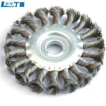 escova de roda abrasiva para remoção de poeira de alta qualidade