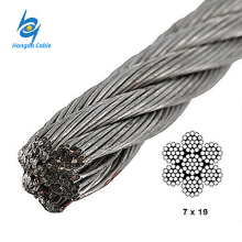 Guy Wire 3 / 8 ehs / inch Stranded Galvanized Steel Wre