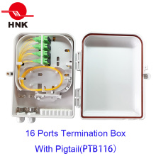 FTTH 16 Fibers Optical Fibertermination Box for Sc/LC Adapters