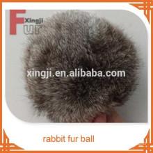 rabbit fur ball animal pom poms