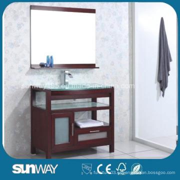 Напольный шкаф для ванной комнаты с раковиной