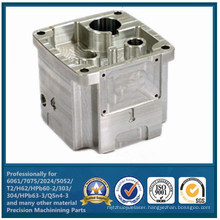 CNC Machining Aluminum with Aluminum Machined Parts (WKC-430)