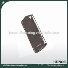 Fabricação profissional zamak fundição telefone capa fábrica