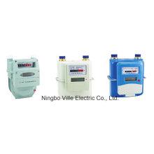 Medidor de gas inteligente de tarjeta IC