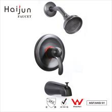 Haijun favorable precio cUpc bañera pared montado solo mango ducha grifos