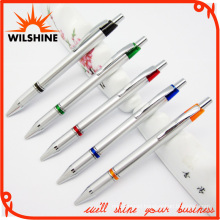 Quality Plastic Ball Pen with Metal Clip for Promotion (BP0210S)