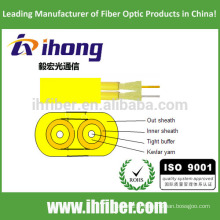Fibre optique Flat Twin Duplex Military Tactical Indoor Cable