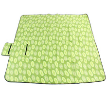Outdoor Camping Suede Picnic Mat Moisture-Proof Crawling Thick Mats