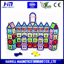 Строительство замков, магнитные игрушки, развивающие игрушки, новые игрушки