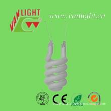 Halbspirale Tri-Color Halogen CFL Glasrohr