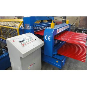 European Style Double Deck Roof Roll Forming Machine