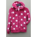 100%POLYESTER CORAL FLEECE  Ladies  JACKET