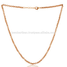 Dainty 18K Gold Plated Brass Chain in 20 Inch Length Wear as Bracelet